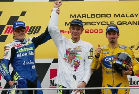 Rossi Malasia Motogp 2003