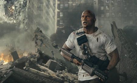 Tráiler de 'Proyecto Rampage': Dwayne Johnson contra monstruos gigantes en la espectacular adaptación del videojuego
