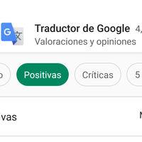 Google Play usa la inteligencia artificial en sus dos nuevos filtros: opiniones positivas y negativas