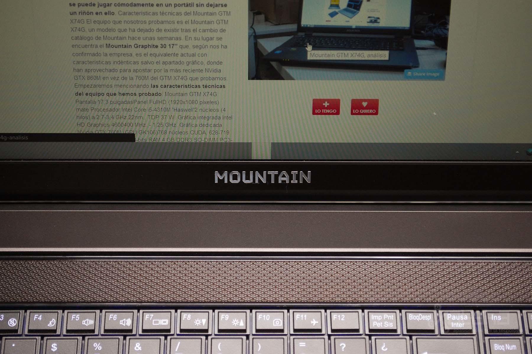 Mountain Graphite 40, análisis