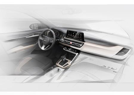 El misterioso B-SUV de KIA muestra el interior, previo a su estreno este verano