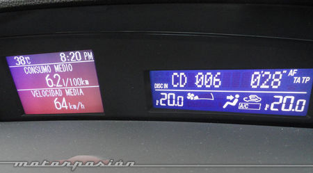 Mazda3 1.6 CRTD 115 cv, pantalla multifunción