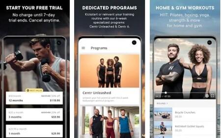 Centr Chris Hemsworth App