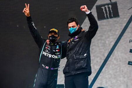 Hamilton Wolff Turquia F1 2020