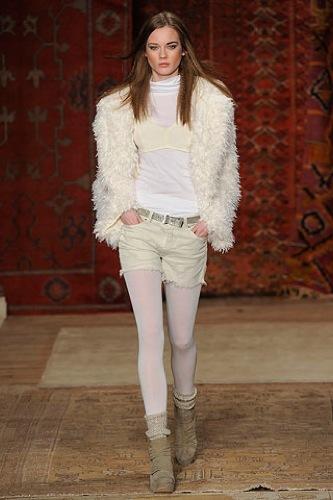 Erin Wasson x RVCA, Otoño-Invierno 2010/2011 en la Semana de la Moda de Nueva York, chaquetas