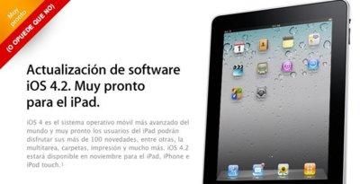 Posible retraso en el lanzamiento de iOS 4.2