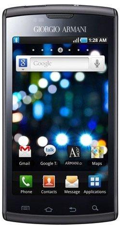 Giorgio Armani Samsung Galaxy S, el nuevo terminal Android de diseño
