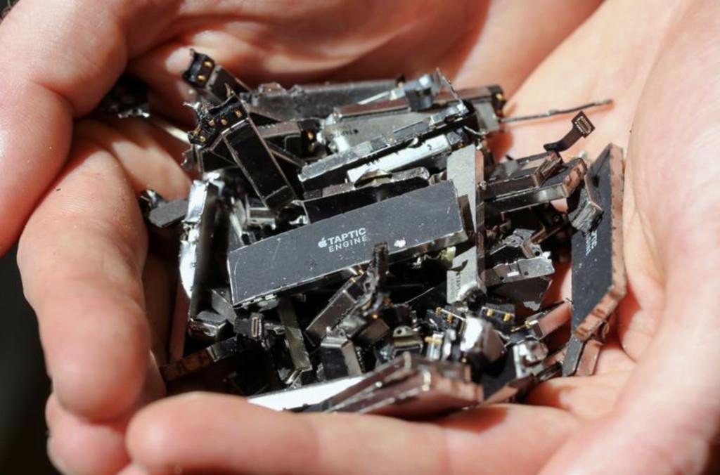 Cómo funciona Daisy, el robot de reciclaje de Apple: un nuevo informe desvela más detalles