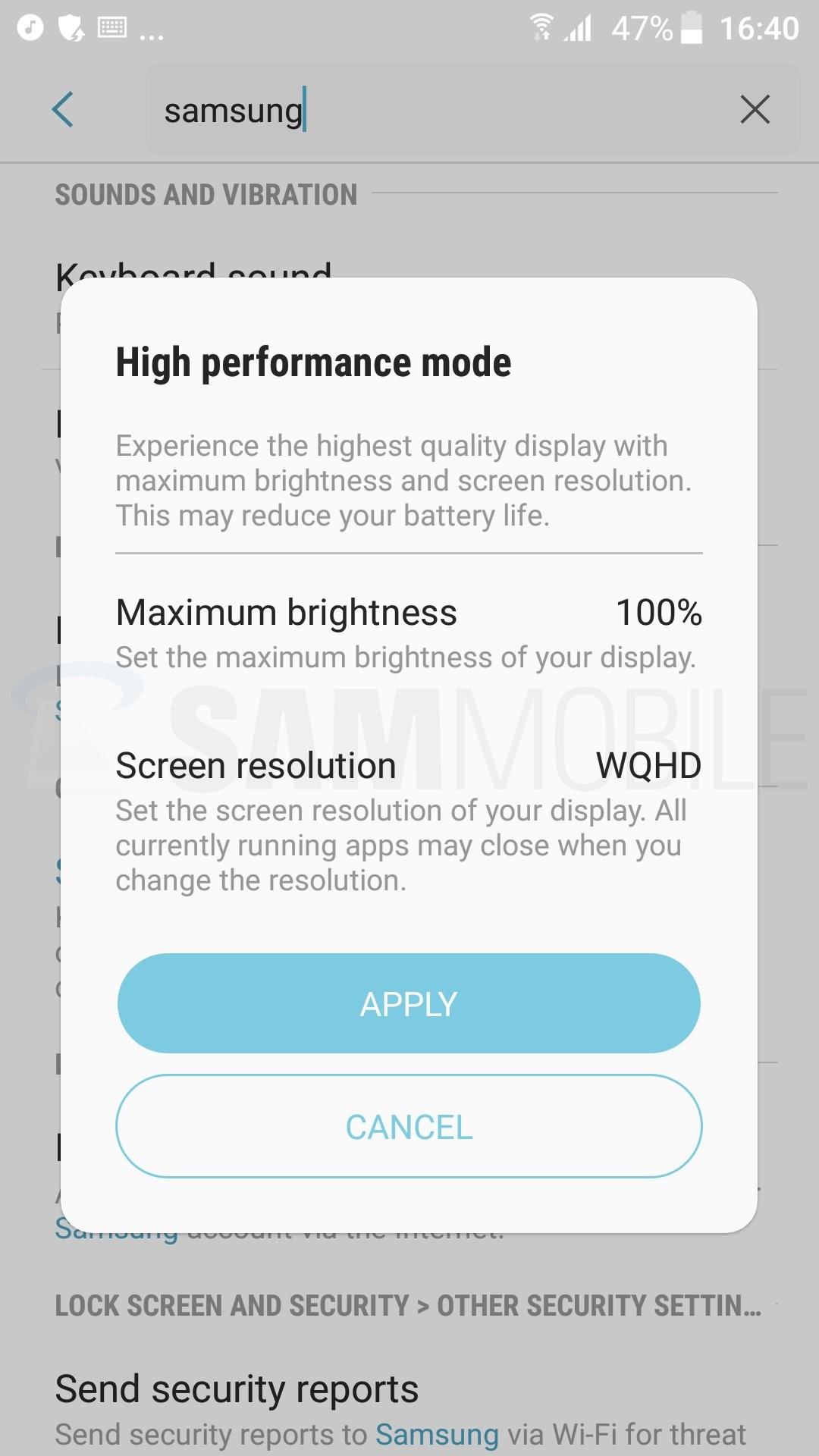 Foto de Capturas Android 7.0 Nougat en el Samsung Galaxy S7 (24/65)