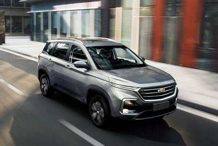 La Chevrolet Captiva 2022 ya tiene precio en México: un SUV chino con espacio para siete y motor turbo