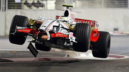 25 geniales fotos del GP de F1 de Singapur