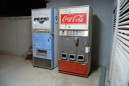 Coca y pepsi