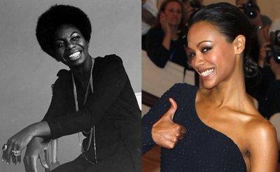 Zoe Saldana dará vida a Nina Simone