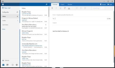 La aplicación de mail para Windows 10 ahora soporta TLS