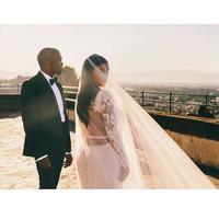 Kim Kardashian se cela: para boda, la mía