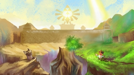 Imagen de la semana: impresionante y kilométrico homenaje a 'The Legend of Zelda: Skyward Sword'