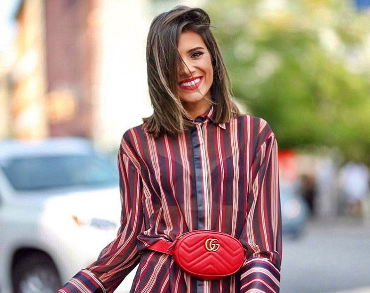 703d81be57f26 El artículo que ha revolucionado el street style (e Instagram) es... ¡una  riñonera! De Gucci