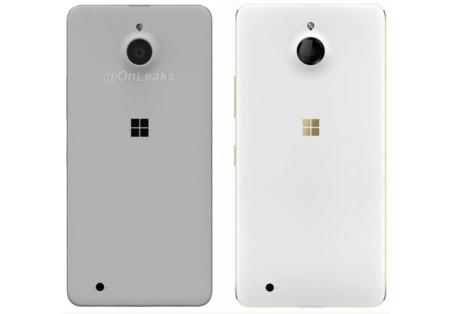 Comparación de renders del Lumia 850