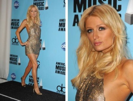 Paris Hilton American Music Awards 2008