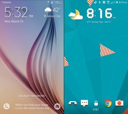 HTC Sense 7 y la nueva Touchwiz muestran su fuerza en una extensa comparativa fotográfica