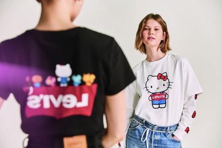 hermosa y encantadora moda atractiva precios de remate Hello Kitty invade la nueva colección de camisetas (y ...