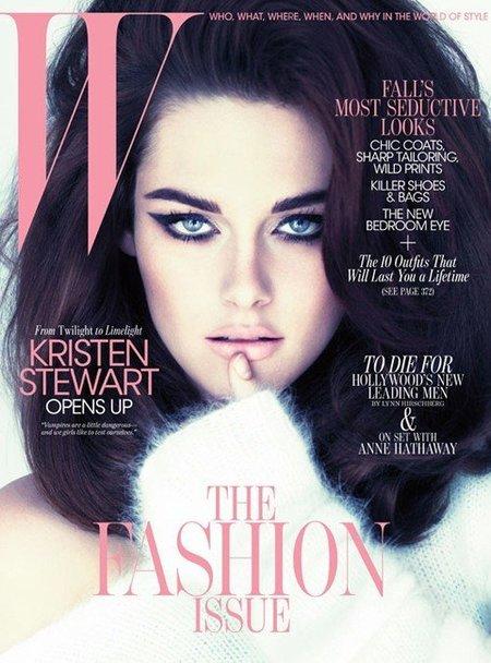 Kristen Stewart, explosiva e irreconocible en la portada de W Magazine