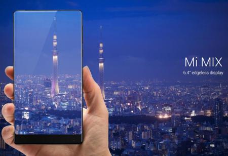 Xiaomi Mi Mix, con 256GB de capacidad, por 464 euros y envío gratis