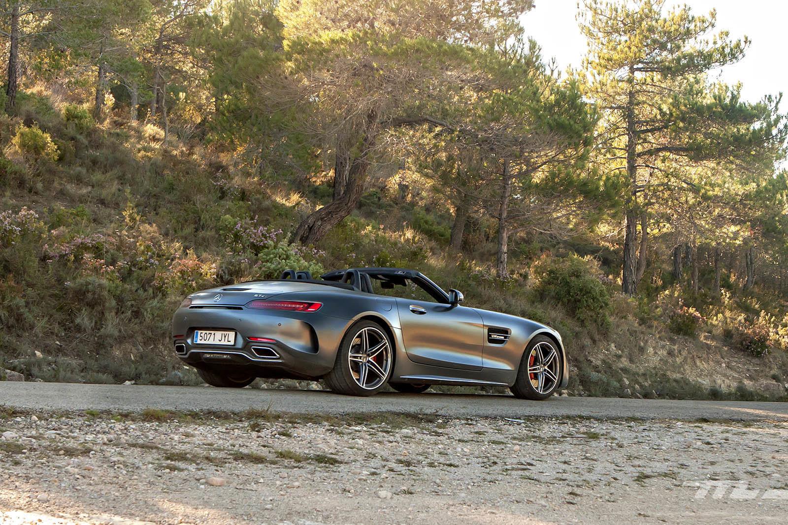 Foto de Mercedes-AMG GT C Roadster 2018 prueba (16/22)