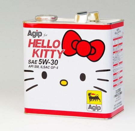 Hello Kitty hasta en tu lubricante