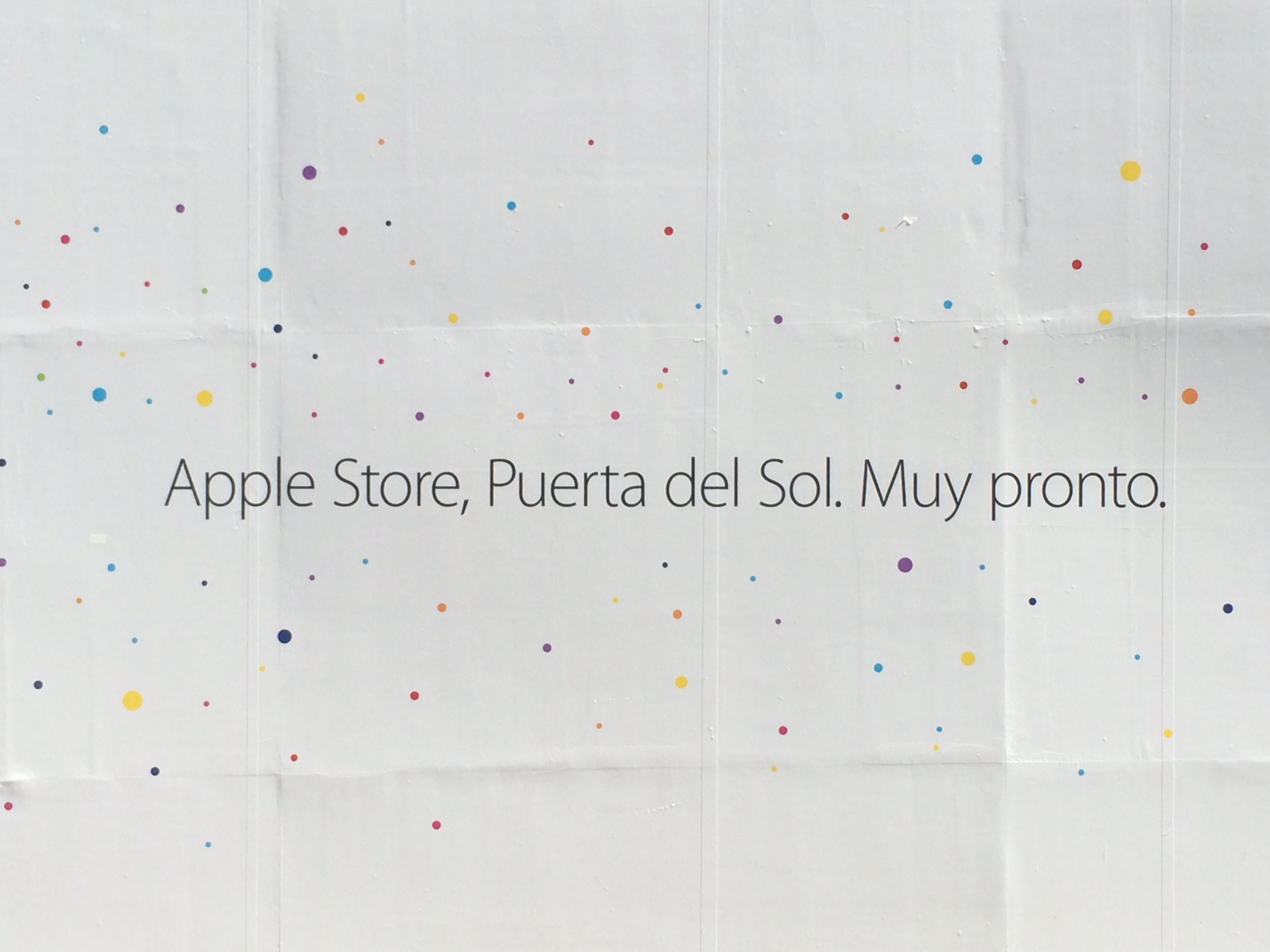 Foto de Preparativos Apple Store de Sol (1/18)
