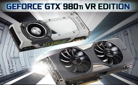 EVGA pone el VR al frente con dos nuevas tarjetas GeForce GTX 980 Ti