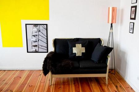 Convierte un viejo sofá feo en un sofisticado mueble