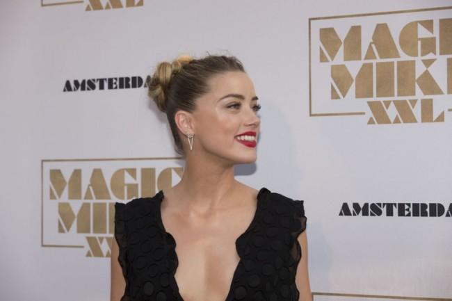 Amber Heard Amagic Mike Amsterdam