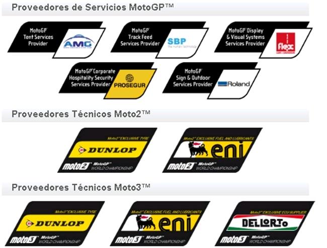 Patrocinadores MotoGP