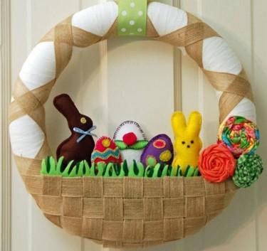 Cinco coronas para celebrar la Pascua