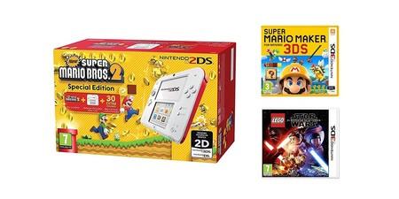 Oferton En Nintendo 2ds Con 2 Juegos Y 3x2 En Juegos De Nintendo