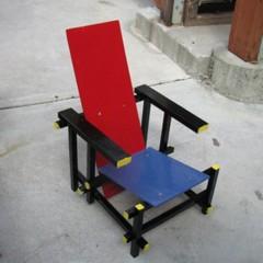 Foto 3 de 3 de la galería red-blue-chair-infantil-y-artesana en Decoesfera