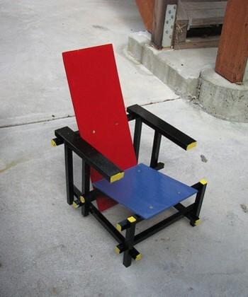 Foto de Red Blue Chair infantil y artesana (3/3)