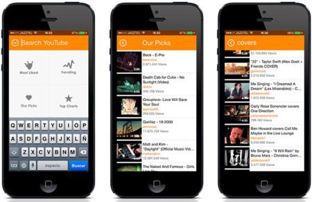 Musi para iOS, una app para disfrutar de la música de Youtube