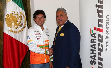 Sergio Pérez, nuevo piloto de Force India