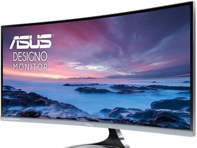 Llega a las tiendas europeas el último monitor de Asus, el Designo Curve MX34VQ con pantalla curva