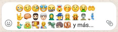 WhatsApp para Android estrena más de 60 nuevos emojis: vómito, magos, elfos, zombis, vampiros y más