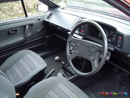 Interior Volkswagen Scirocco clásico