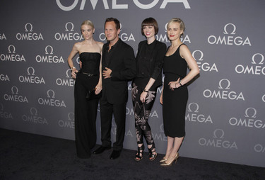 Coco Rocha, Taylor Schilling y Jaime King no se pierden la fiesta Omega Speedmaster