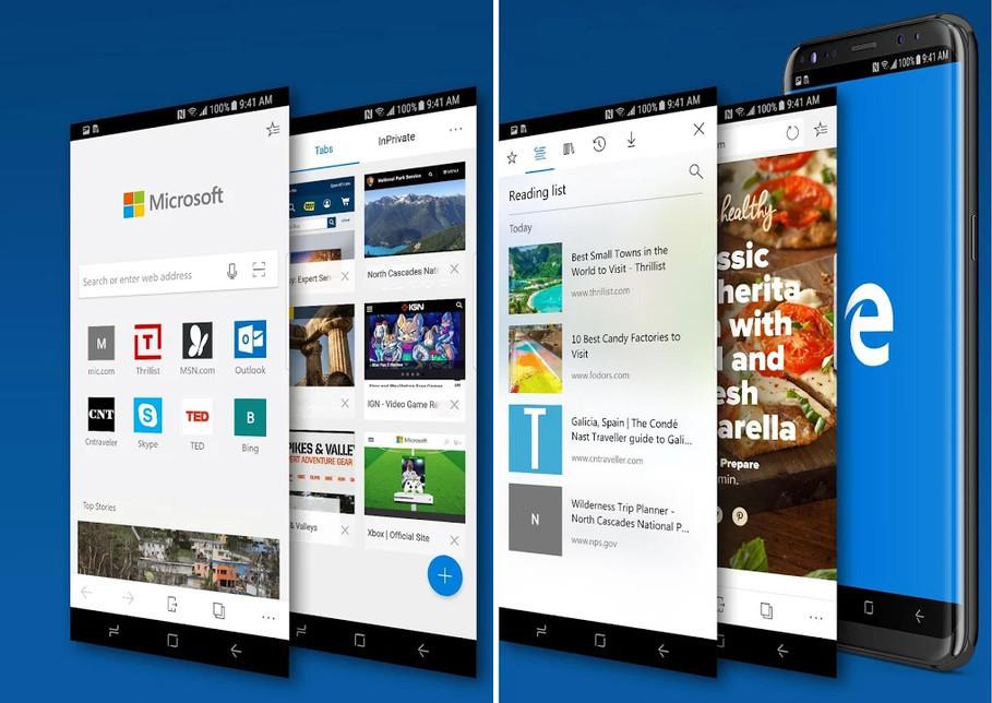 La mas reciente Microsoft amovible se fabrica encima Android