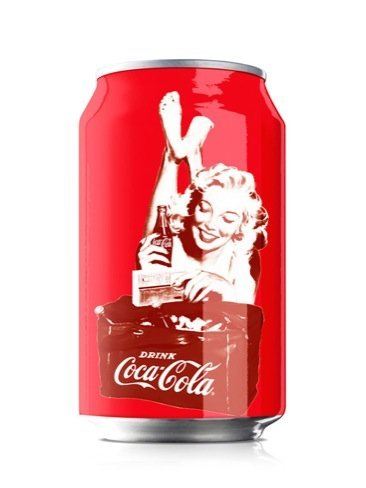Las mujeres pin-ups para la lata de Coca-Cola