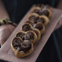Receta de corazones de hojaldre y Nutella para una romántica ocasión