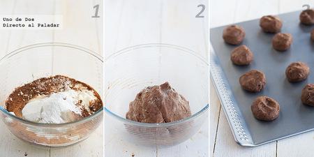 Pastas fáciles de chocolate y fresa. Receta para San Valentín