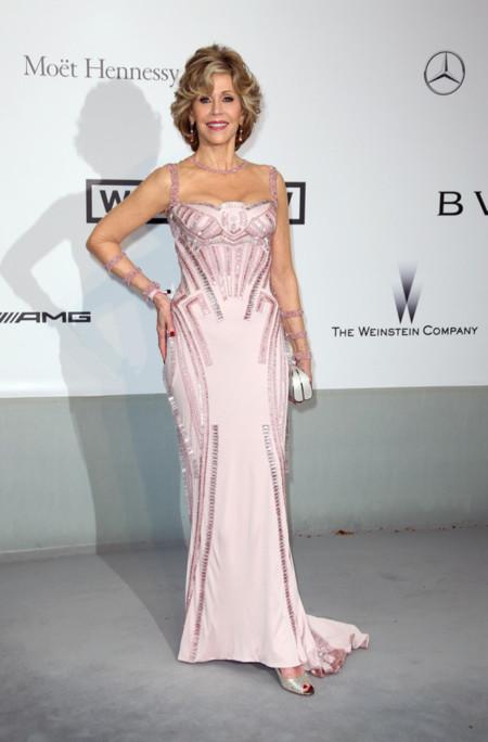 Jane Fonda amfar Cannes 2014