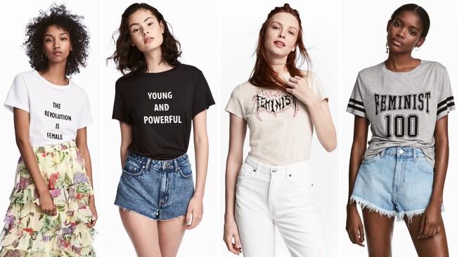 Hm Camisetas Feministas